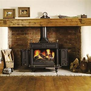 15, Brick, Fireplace, Ideas, For, Wood, Burning, Stoves, Selection