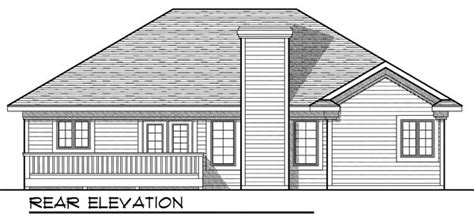House Plan 73202 Ranch Style with 1496 Sq Ft 3 Bed 2 Bath