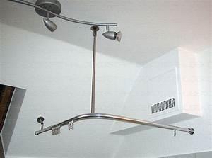 Duschvorhang Bei Dachschräge : runde duschvorhangstange f r viertelkreis badewanne farben edelstahl oder wei ~ Sanjose-hotels-ca.com Haus und Dekorationen