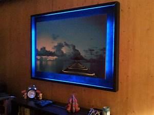 Cadre Lumineux Message : cadre lumineux hexolight mise en lumiere ~ Teatrodelosmanantiales.com Idées de Décoration