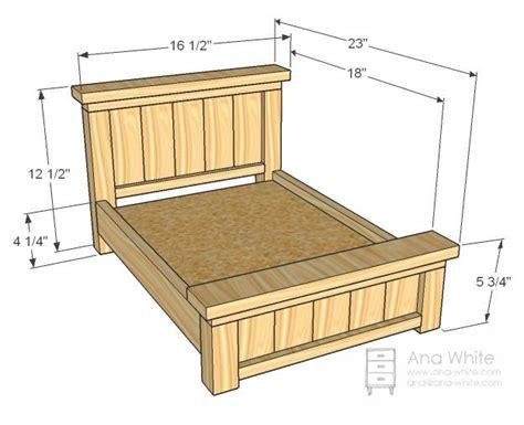 bed frame plans na rybyinfo