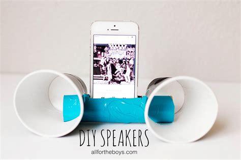 Cool Diy Projects Teenagers All Boys Speakers  Tierra