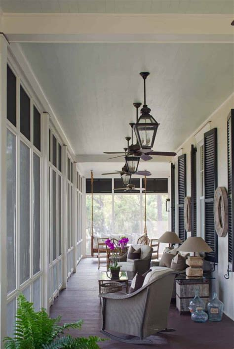 Porch Ideas by 38 Amazingly Cozy And Relaxing Screened Porch Design Ideas