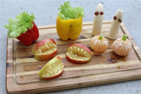 Gesunde Ideen Für Halloween Bananengeister, Mandarinen