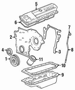 Cadillac Eldorado Engine Timing Cover Gasket  Liter