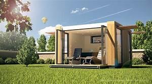 Gartenhaus Holz Modern : modernes designgartenhaus ~ Whattoseeinmadrid.com Haus und Dekorationen