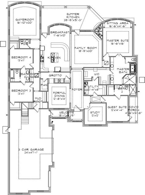 house plan   ranch plan  square feet