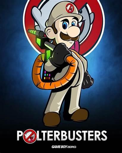 Mansion Luigi Ghostbusters Mario Super Instagram Posters