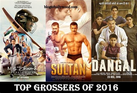 top 10 highest grossing 2016 dangal sultan tops the list