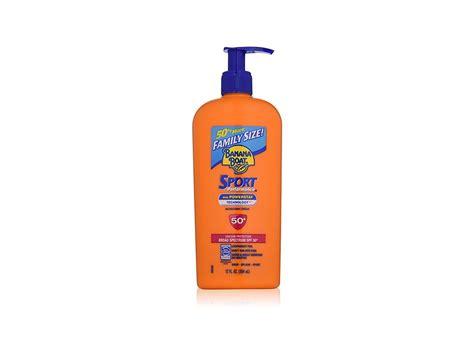 Banana Boat Sunscreen Ingredients Safety by Banana Boat Sunscreen Sport Lotion Spf 50 12 Oz