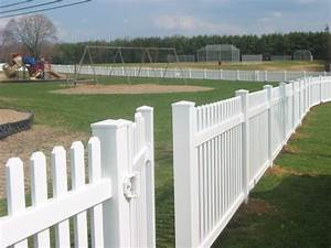 vinyl fence south camden iron works With white dog fence