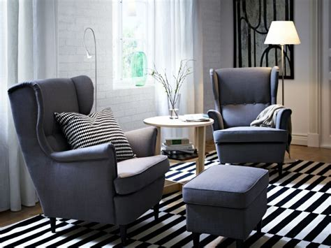 The New Strandmon Wing Chair And Footstool Is A Tribute To