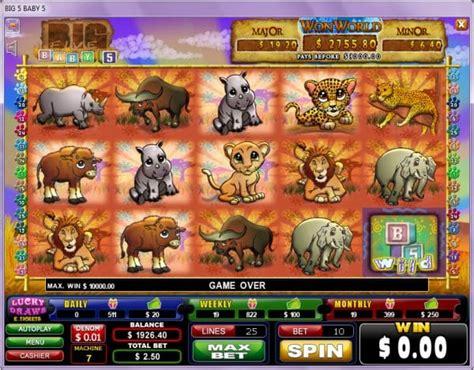 Free Big Five Slot Machine Game
