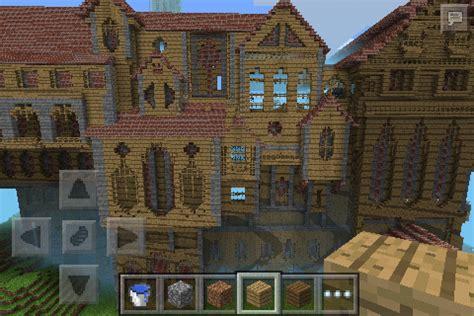 herobrines mansion creation minecraft pe maps