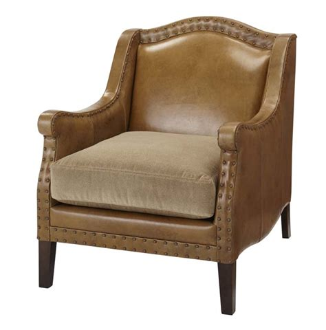 camel leather western chair western accent chairs free