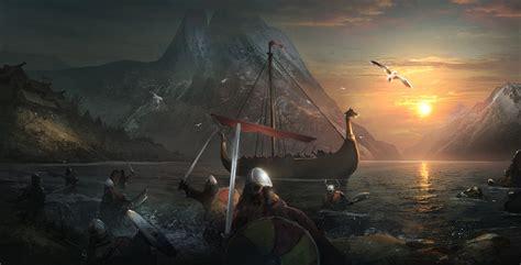 Artstation  Attack Of Vikings Tightrope Games, Sergey