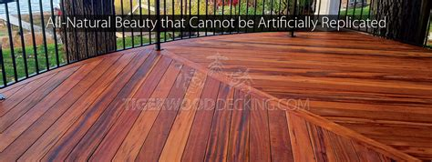 Tiger Wood Decking by The Tigerwooddecking Discover A True