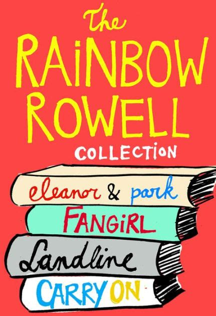 rainbow rowell collection eleanor park fangirl