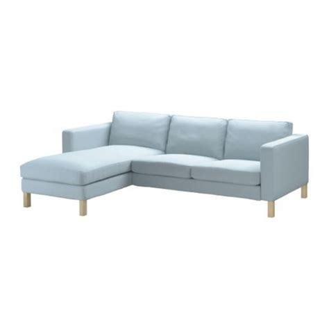 ikea karlstad 2 seat loveseat sofa and chaise slipcover