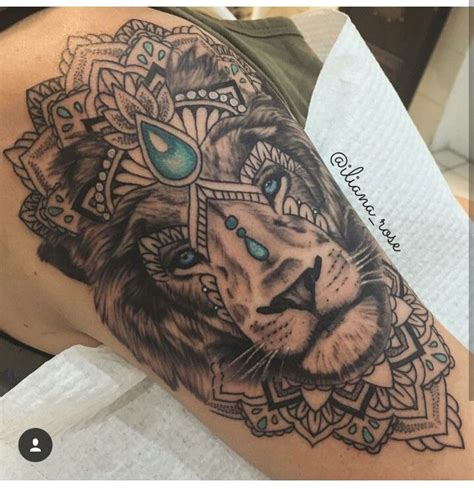 pin  alex cramer  tattoos tattoos lion tattoo