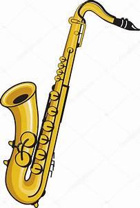 Saxophone — Stock Vector © jameschipper #4109160