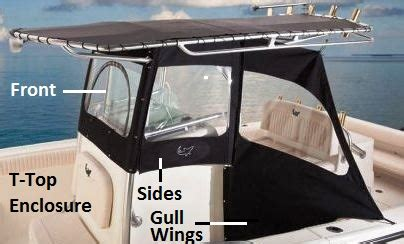 Boat T Top Window by T Top Enclosure Sides Factory Oem From Rnr Marine