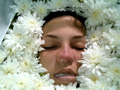 But in 2011 for it diagnosed a blood cancer, there was an operation, there were serious procedures, but on april 19, 2012 she after all died. Women in Caskets - Thread