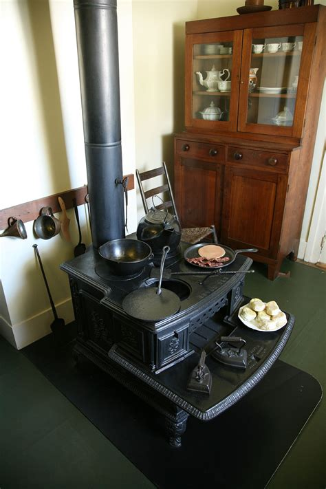 wood stove with cooktop wood burning stove