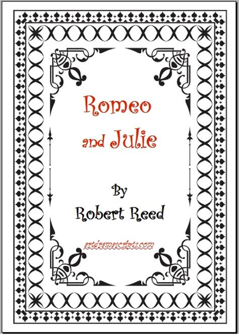 romeo and juliet play script modern scripts plays romeo and julie high school comedy