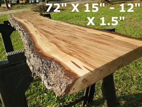 Wood slab coffee table, live edge coffee table, rustic wood slab coffee table, modern hairpin legs end table, mid century coffee table. Live Edge Cherry Solid Hardwood Wood Slab, Foyer Table ...