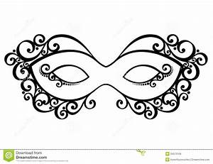 Clip Art Black And White Mask Clipart - Clipart Suggest