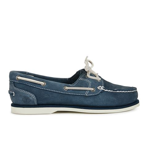 Boat Shoes Navy Blue by Timberland S Classic Boat Shoes Navy Blue Womens