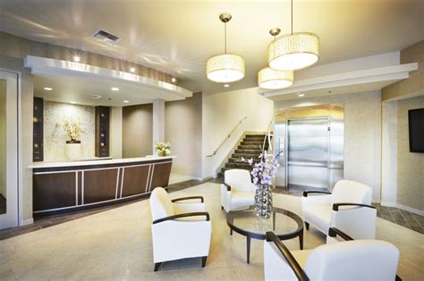 corporate lobby  shasta smith contemporary entry