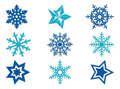 free snowflake and snowflakes vector graphics freevector
