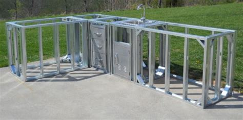 outdoor kitchen kits with sink 1000 images about steel framing projects on
