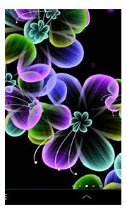 Neon Flowers Live Wallpaper Free Android Live Wallpaper ...