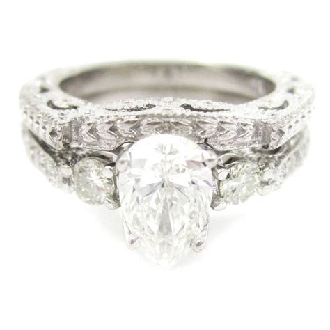 The Gallery For > Pear Shaped Engagement Rings With. Inspiration Wedding Rings. Common Wedding Engagement Rings. Starcraft Rings. Kobe Bryant's Wedding Rings. Brushed Gold Engagement Rings. Rare Wedding Rings. Princess Engagement Rings. Cancer Rings