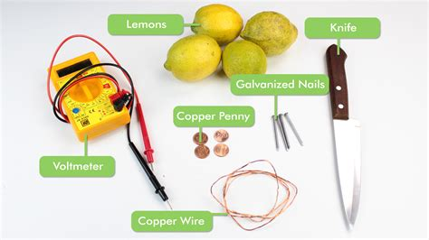 How To Create A Battery From A Lemon 14 Steps With Pictures