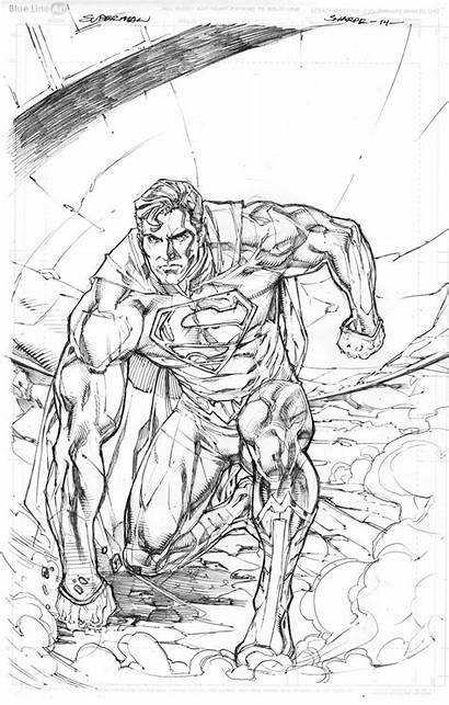 Superman 52 Sharpe Pencils Kevin Deviantart Comics