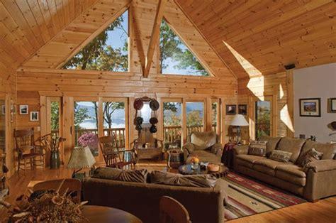 a frame home interiors livin lovin log homes blueridgecountry com