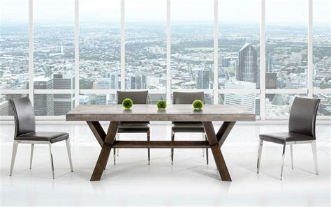 cement top dining table adonis concrete top dining table industrial dining tables