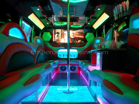 hummer limousine with swimming pool the galaxy edition party bus limousine 30 passenger