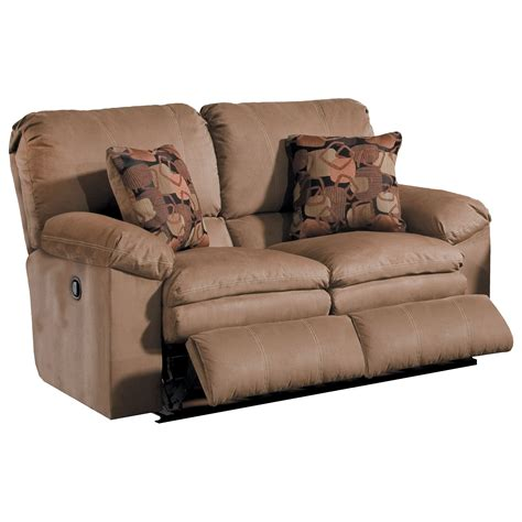 Reclinable Loveseat by Power Reclining Loveseat With Pillow Arms By Catnapper