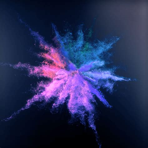 color dust color dust explostion on behance