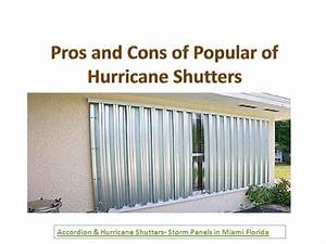 Hurricane Storm Shutters Types  Pros  And Cons