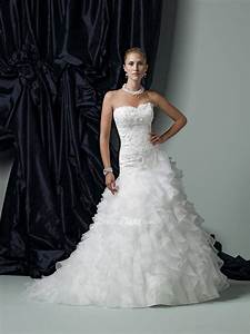 organza ball gown wedding dress with ruffles sang maestro With organza ruffle wedding dress