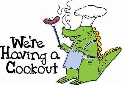 Cookout Clipart Cook Clip Fun June Bbq