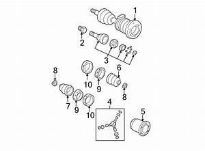 Gmc Jimmy Cv Joint Boot Kit  Front   4wd  4wd  1995