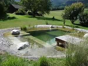 Bassin avec régénération Haute Savoie piscine biologique Paysagiste Haute Savoie 74