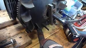 John Deere 318 Onan P218 Flywheel Removal